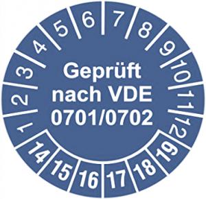 VDE 0701/0702